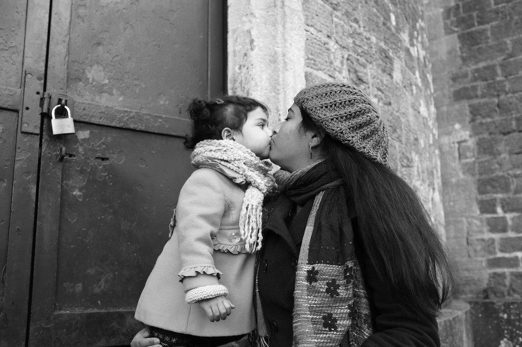 I love you Mummy, but I've got my eye on you...