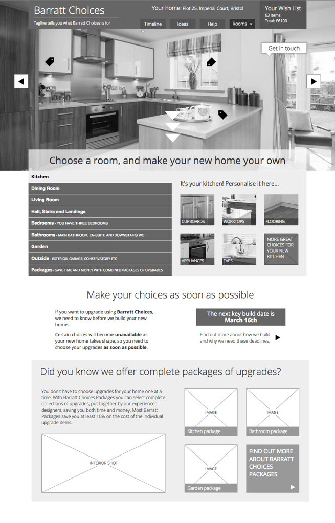 Barratt Choices Prototype